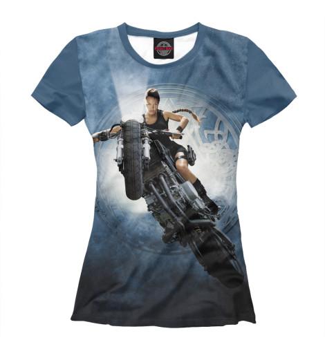 Футболка Print Bar Лара Крофт — Анджелина Джоли футболка классическая printio анджелина джоли
