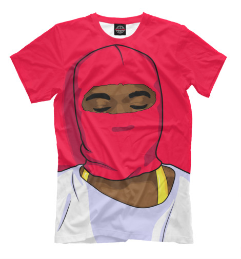 Футболка Print Bar Yeezy mask op7 6av3 607 1jc20 0ax1 button mask