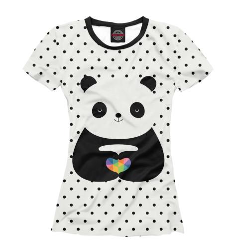 Футболка Print Bar Любовь панды майка борцовка print bar любовь панды