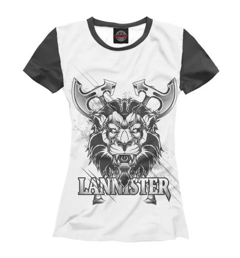 Футболка Print Bar Game of Thrones lannister футболка print bar game of thrones