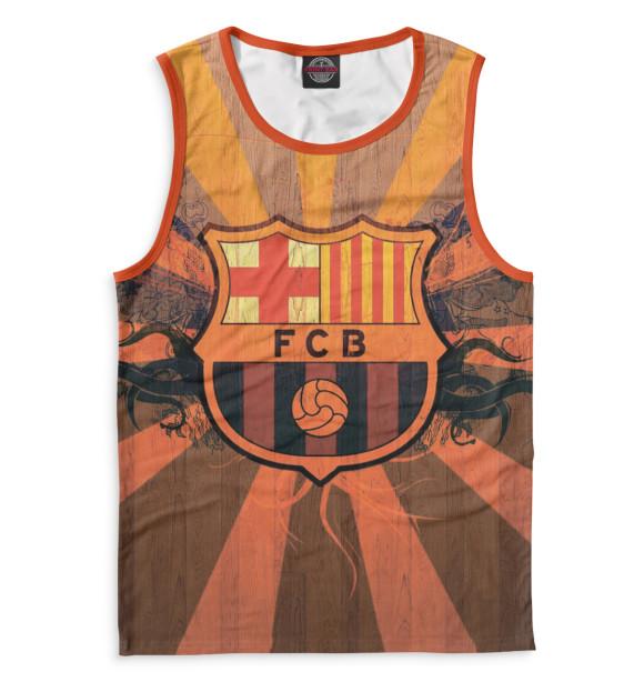 Купить Мужская майка FCB герб BAR-899193-may-2