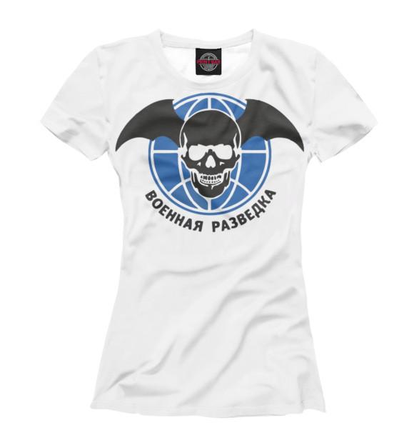 Купить Женская футболка Военная Разведка SVR-116556-fut-1