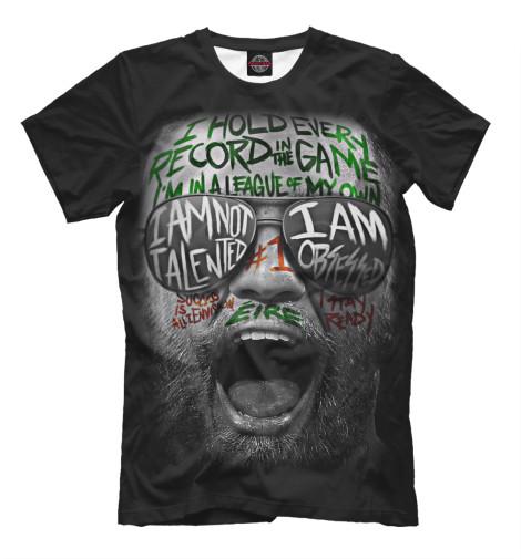 Купить Мужская футболка Конор МакГрегор MCG-294588-fut-2