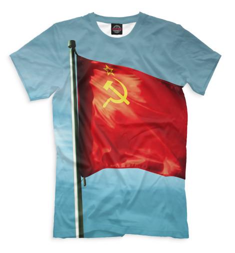 Мужская футболка Красное знамя