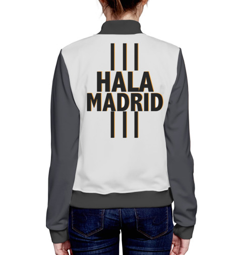 Бомбер Print Bar Hala Madrid бомбер printio мода 2017