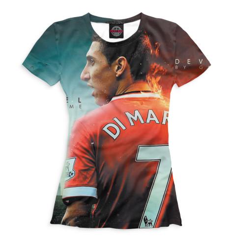 Женская футболка Ди Мария