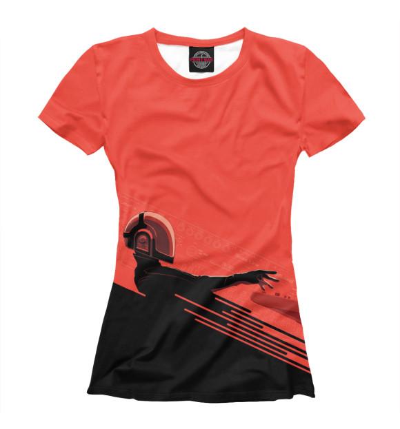 Купить Футболка для девочек Daft Punk DFP-138511-fut-1
