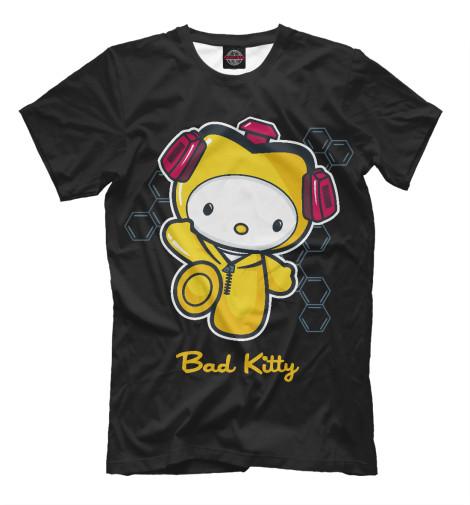 Футболка Print Bar Bad Kitty майка классическая printio во все тяжкие braiking bad ч б