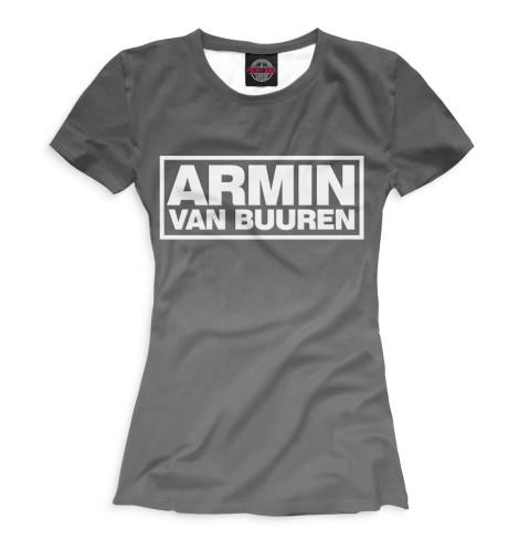 Женская футболка Armin van Buuren
