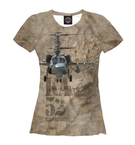 Футболка Print Bar Вертолет -52 «Аллигатор»