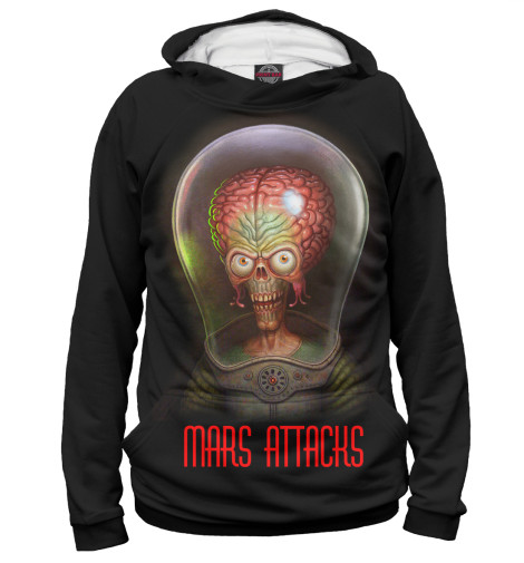 Худи Print Bar MARS ATTACKS худи print bar mars adventure camp