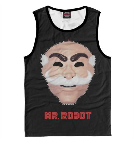 Майка Print Bar Mr. robot свитшот print bar mr robot