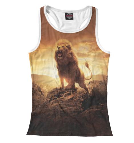 Майка борцовка Print Bar Savannah Lion сандалии savannah savannah sa040awiez63