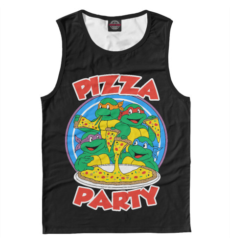 Майка Print Bar Pizza Party свитшот print bar pizza party