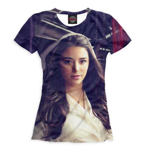 Женская футболка Кристи МакКоули