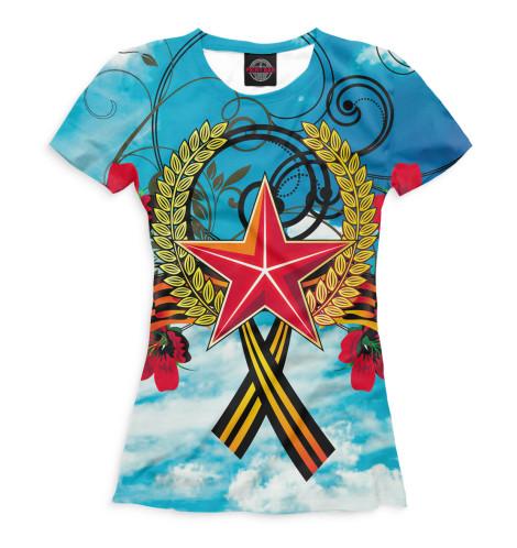 Женская футболка 9 мая
