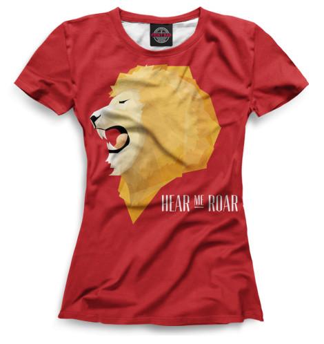 Женская футболка Символ Ланнистеров