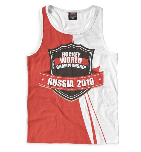 Мужская майка-борцовка Россия 2016 Print Bar HOK-598290-mayb-2