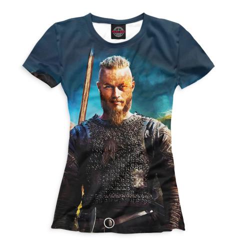Купить Женская футболка Викинги VIK-432162-fut-1