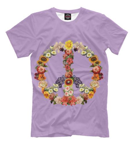 Футболка Print Bar Flower power футболка print bar flower tropic