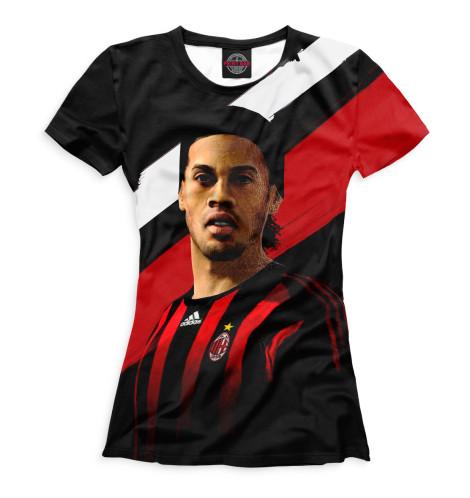 Женская футболка Рональдиньо