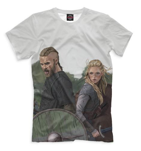 Мужская футболка Рагнар и Лагерта