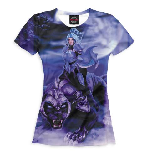 Женская футболка Luna