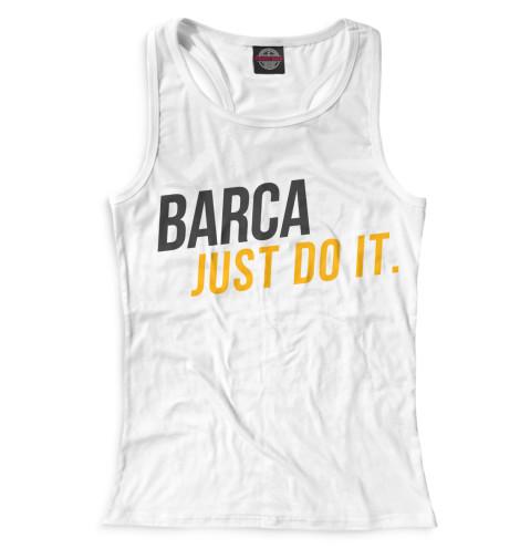 Женская майка-борцовка Barca