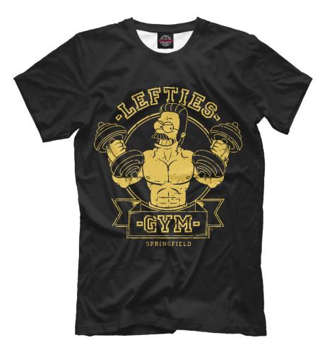 Мужская футболка Springfield Gym SIM-859686-fut-2  - купить со скидкой