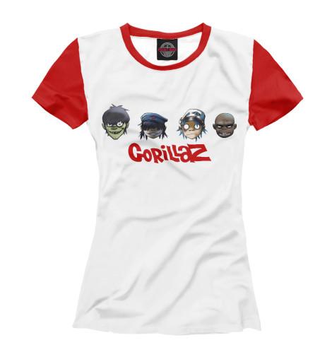 Купить Футболка для девочек Gorillaz GLZ-481547-fut-1