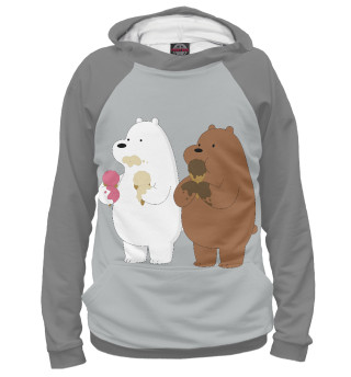 Худи для девочки We Bare Bears