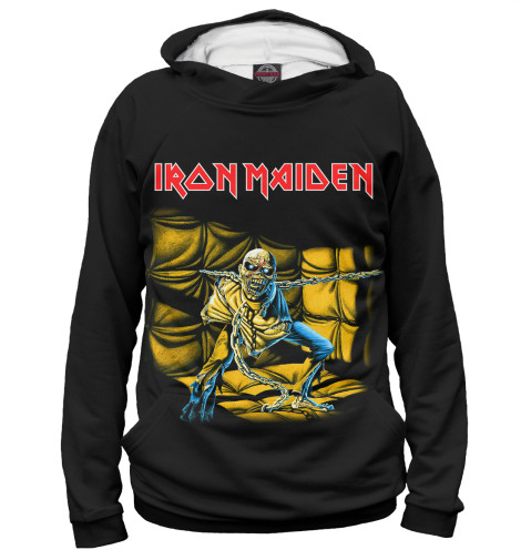 Худи Print Bar Iron Maiden Piece of Mind виниловая пластинка iron maiden piece of mind