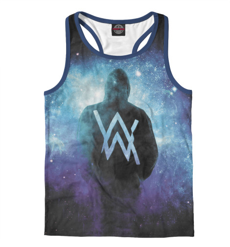 Майка борцовка Print Bar Alan Walker alan walker