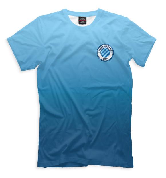 Купить Мужская футболка Логотип Manchester City
