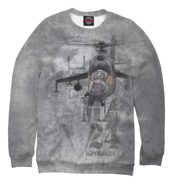 Купить Свитшот для мальчиков Вертолет Ми-24 «Крокодил» VVS-545589-swi-2