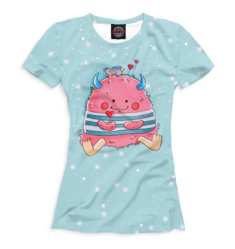 Купить Женская футболка Пушистик MRT-553108-fut-1