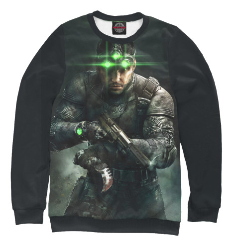 Свитшот Print Bar Splinter Cell: Blacklist — Сэм Фишер tom clancy's splinter cell 3d