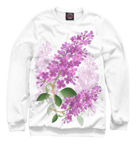 Свитшот Print Bar Lilac lilac