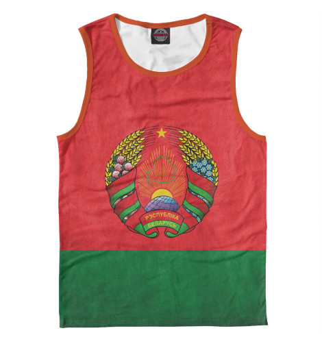 Майка Print Bar Флаг Беларуси подарки для новорожденных купить в беларуси