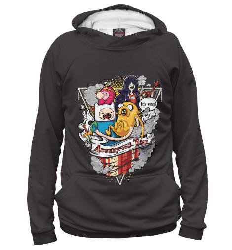 Купить Худи для девочки Adventure Time Team ADV-215175-hud-1