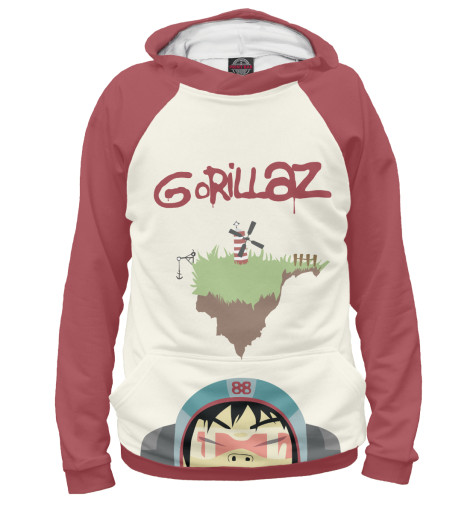 Худи Print Bar Gorillaz худи print bar fall out boy