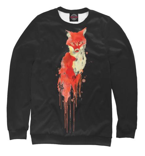 Купить Свитшот для мальчиков Акварельная Лиса FOX-719093-swi-2