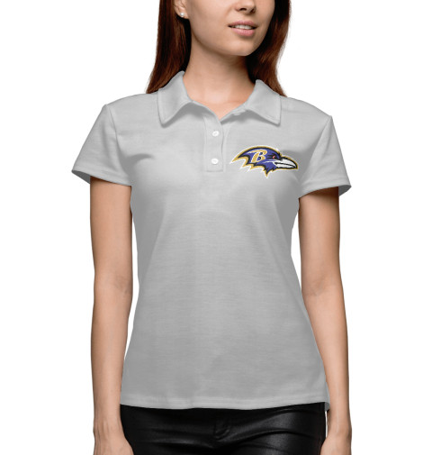 Поло Print Bar Baltimore Ravens - Балтимор Рэйвенс a gathering of ravens