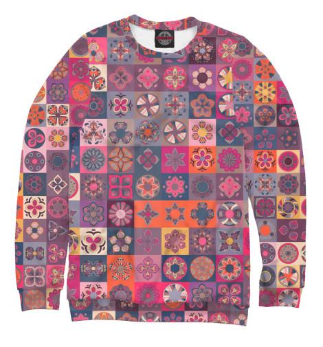 Свитшот Print Bar Цветочные лоскуты