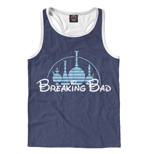 Майка борцовка Print Bar Breaking Disney платья welldress платье футляр