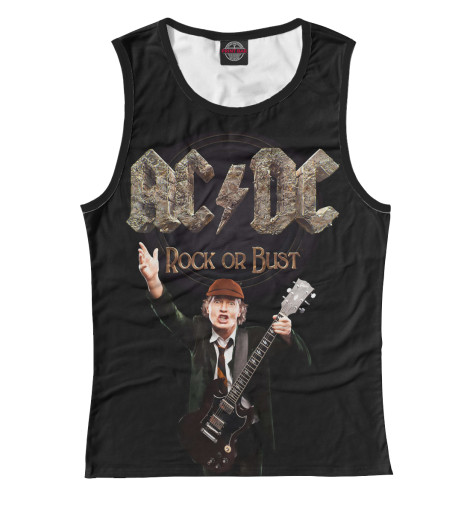 Майка Print Bar AC/DC Rock or Bust cd ac dc for those about to rock we salute you remastered