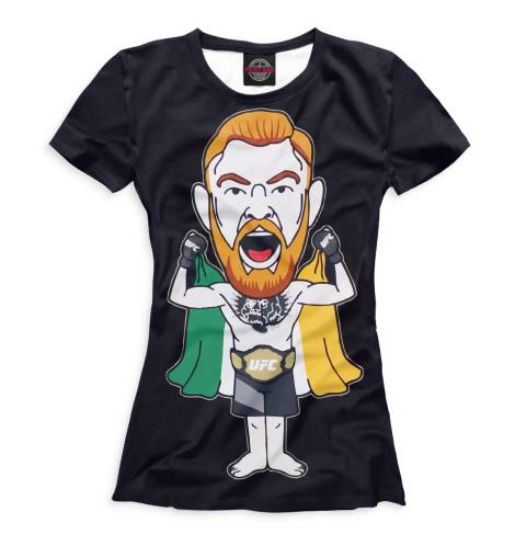 Купить Женская футболка Конор МакГрегор MCG-919732-fut-1
