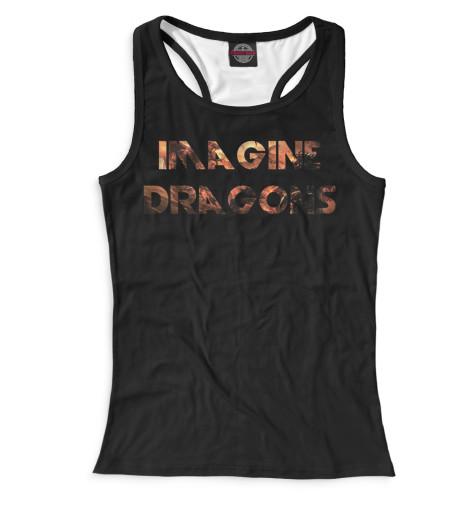 Женская майка-борцовка Imagine Dragons