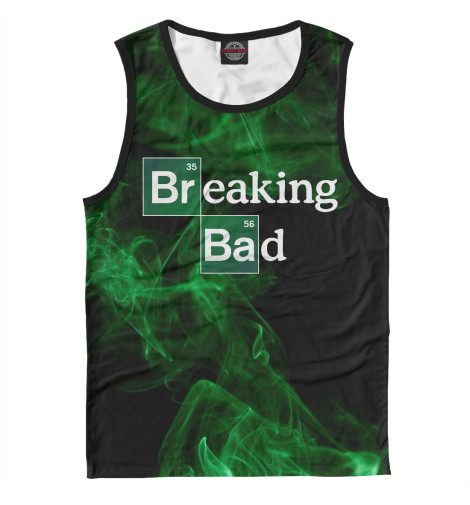 Майка Print Bar Breaking Bad томсон дэвид breaking bad официальное издание сериала во все тяжкие