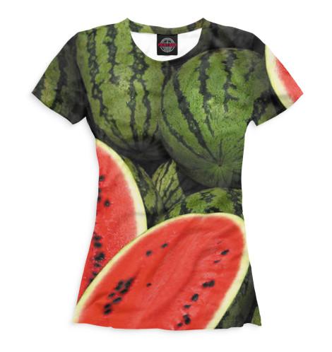 Женская футболка Арбузы